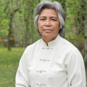 Maître Tai Chi en tenue